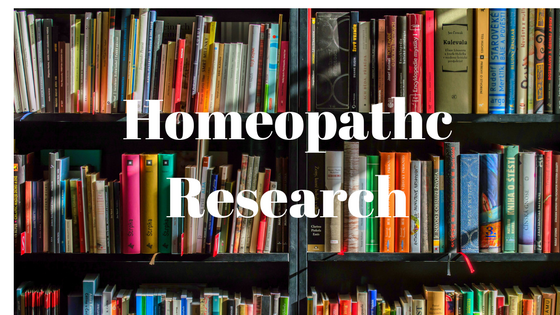 Research into homeopathy